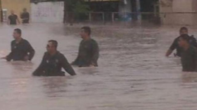 Torrential Downpours Across South Lead to Dramatic Rescues
