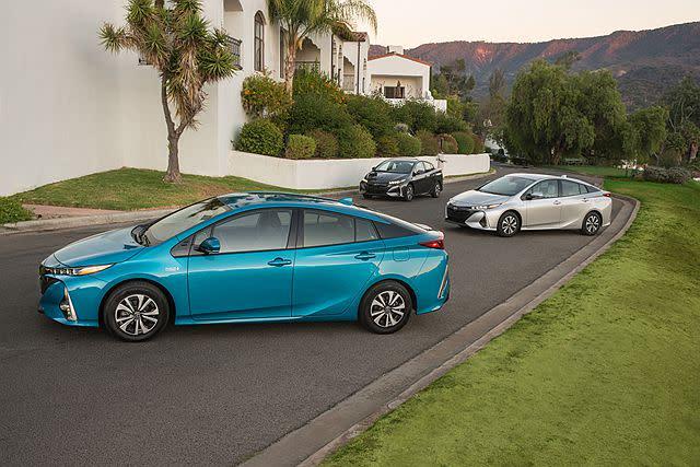 問世多年且發展到第 4 代 Prius ,已是大眾心中的 Toyota Hybrid 代表作。圖片/ Toyota