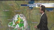 Storms possible Sunday