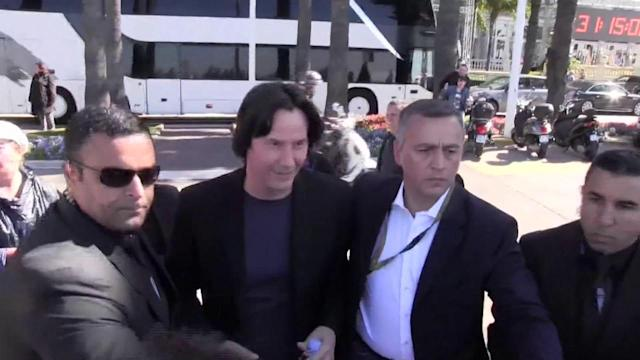 Keanu Reeves Appears to Show Weight Gain at Cannes