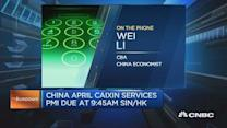 What to expect from China's Caixin services PMI