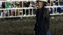 Banned rodeo clown speaks for first time on Obama controversy