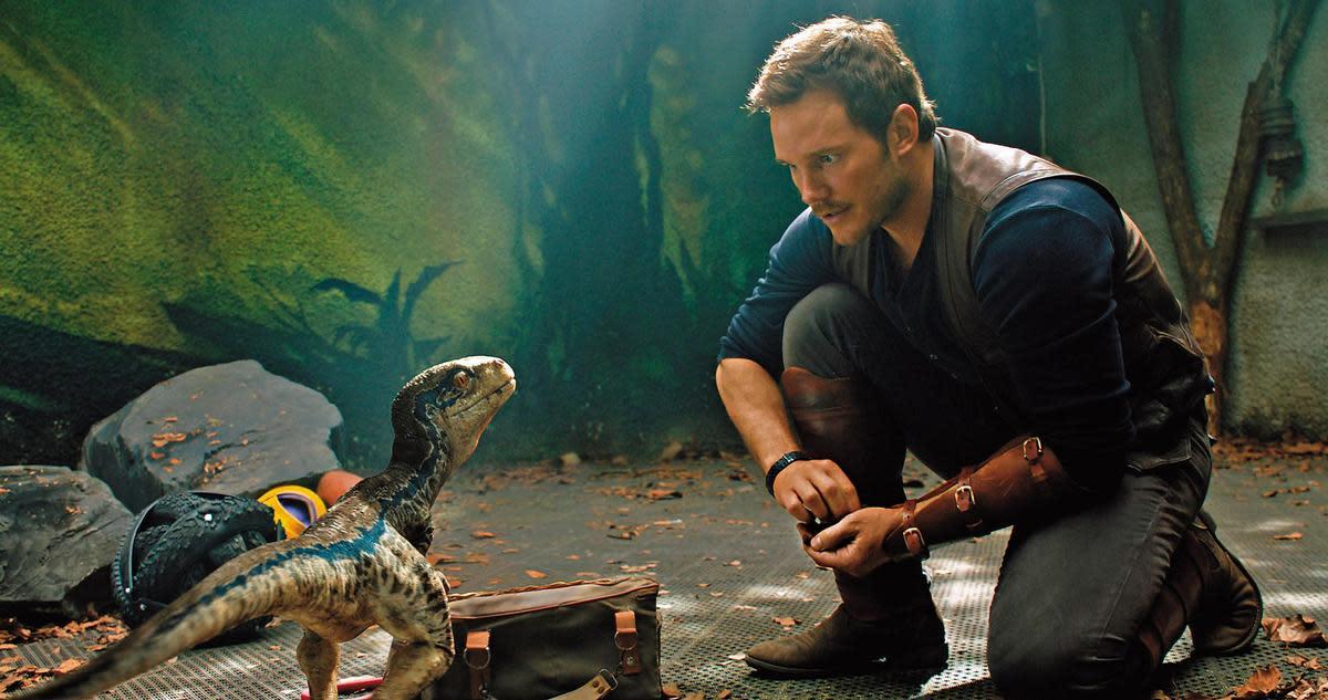 除了《星際異攻隊》的「星爵」之外,克里斯普拉特還在賣座電影《侏羅紀世界》飾演馴獸師歐文,大家可以看到他在暑假檔《侏羅紀世界:隕落國度》登場。(UIP)
