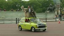 Mr Bean makes surprise appearance to celebrate 25 years