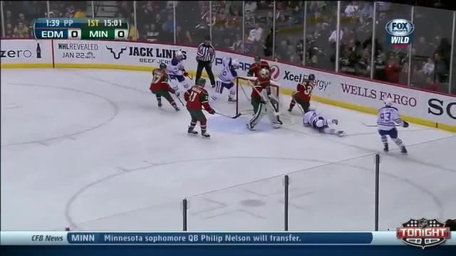 Edmonton Oilers at Minnesota Wild - 01/16/2014