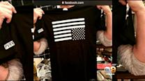 Critics Call PacSun Shirt Depicting Upside-Down American Flag 'Disrespectful'