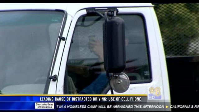 Cell phone use leading cause of distracted driving