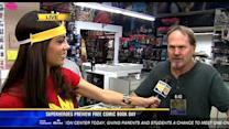 Superheroes preview free comic book day in SD