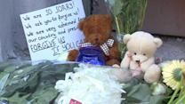 Muscovites leave apologetic messages outside Dutch embassy