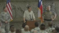 Perry not sure how long National Guard troops to deploy to Texas-Mexico border