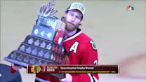 Duncan Keith wins the Conn Smythe trophy