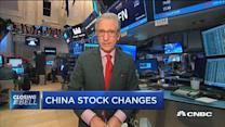 Volume to come from Chinese stocks
