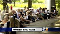 Hundreds Line Up At Central Park To Get Tickets For Shakespeare In The Park