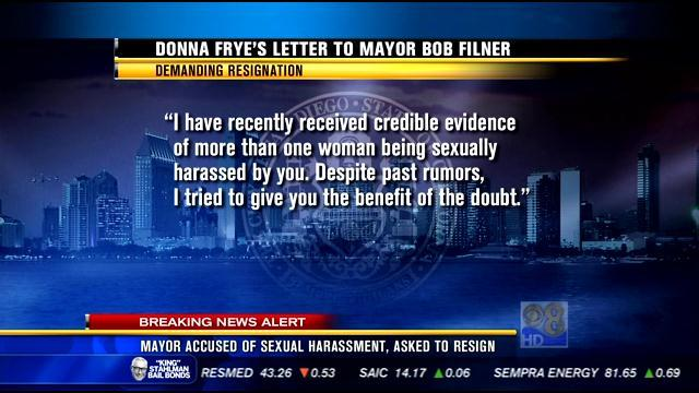Mayor accused of sexual harassment, asked to resign
