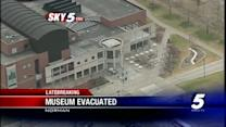 Museum evacuated after suspicious package found