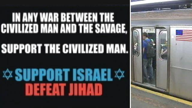 'Anti-jihad' ads free speech or offensive?