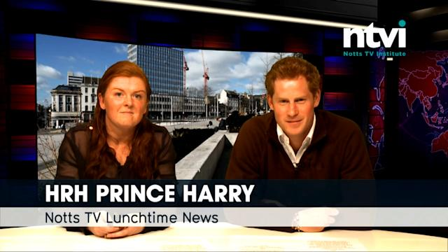 Could Prince Harry Have a Broadcasting Job in His Future?