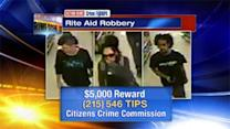 Crimefighters: $5,000 reward in Bridesburg Rite Aid robbery