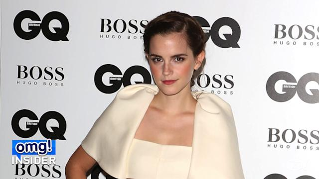 Emma Watson's Quirky Caped Crop Top
