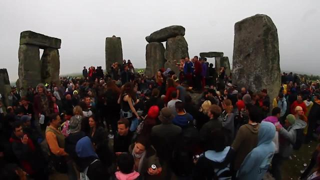 Summer solstice 2013 at Stonehenge