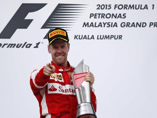 Sebastian Vettel與FERRARI的關係已經有點緊張