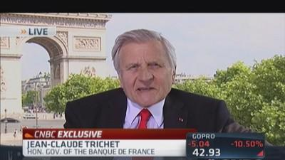 Santelli Exchange: Jean-Claude Trichet on QE