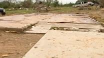 Texas tornado: Homes ripped from foundations