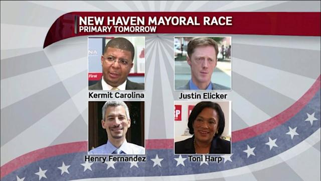 Voters Head To The Polls In New Haven