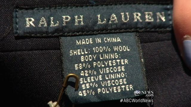 U.S. Olympic Team Uniforms Made in China