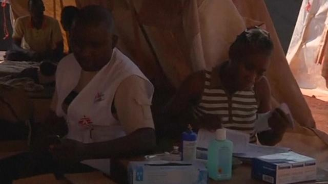 Doctors Without Borders paring down aid at Bangui airport