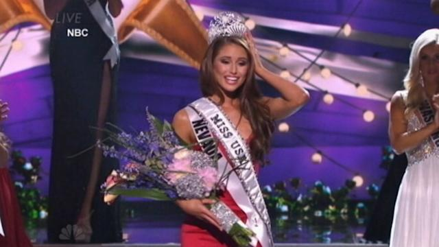 Miss Nevada, Nia Sanchez, Crowned Miss USA
