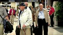 WWII Vets Celebrate End Of Government Shutdown