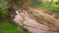 Flood prone creek causes California residents to worry