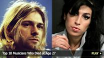 Top 10 Musicians Who Died at Age 27