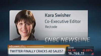 Has Twitter cracked ad sales?