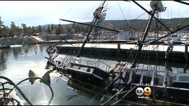 Iconic Tour Boat On Big Bear Lake Floats Again