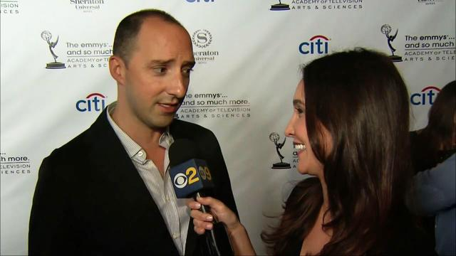 Stars gather at Emmy nominee reception