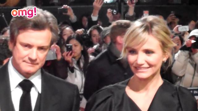 Cameron Diaz braves the cold for premiere of Gambit