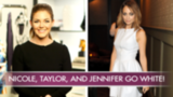 Nicole Richie, Jennifer Lopez, and Taylor Swift Sizzle in White