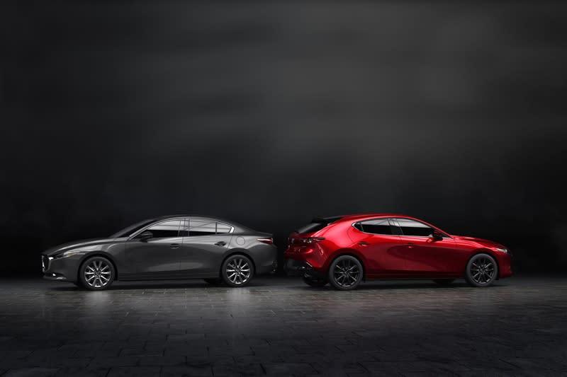 新Mazda 3雖然外型前衛運動,對於車迷來說就是少了性能動力選項。