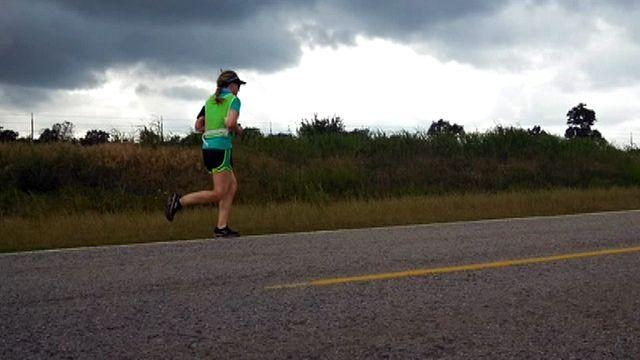 Woman runs cross country from Texas to Minnesota