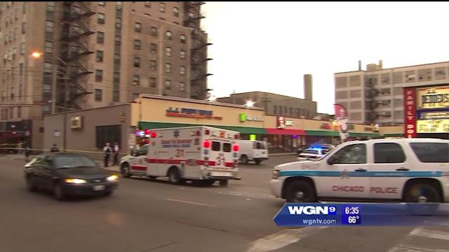 6 shot in front of strip mall in Chicago`s Uptown neighborhood