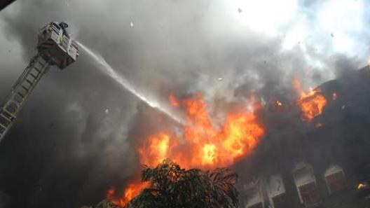 Fire breaks out in Maharashtra Mantralaya