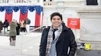 A Fresno County man attends inauguration