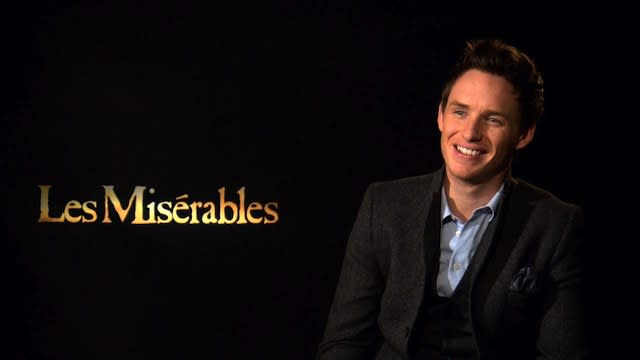 Eddie Redmayne: Les Miserables