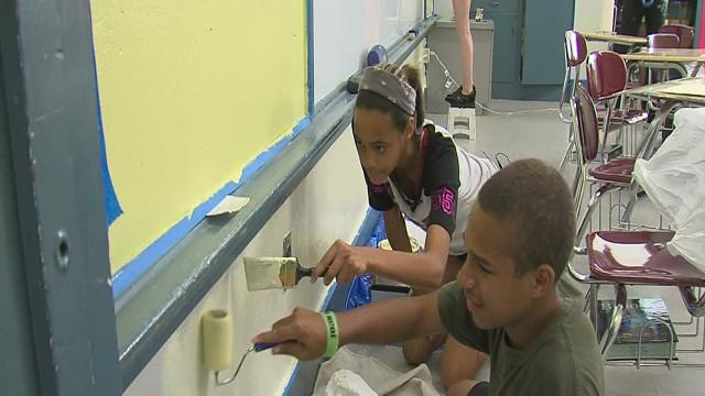 Tulsa School of Arts and Sciences students prepare for new school year in former Sequoyah Elementary