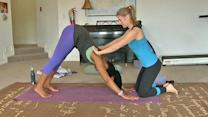 Yoga poses painful when practiced improperly