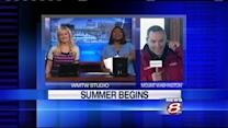 WMTW celebrates summer with 94.9 WHOM team