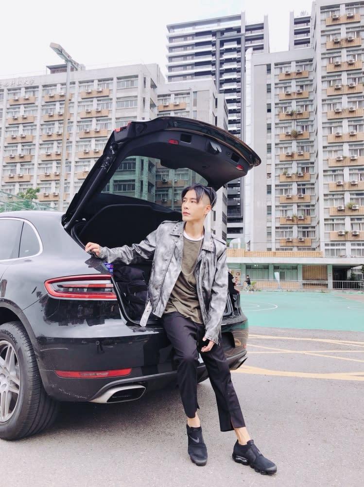 整體性與帥氣度,還是森田選購下一部車主要考量。