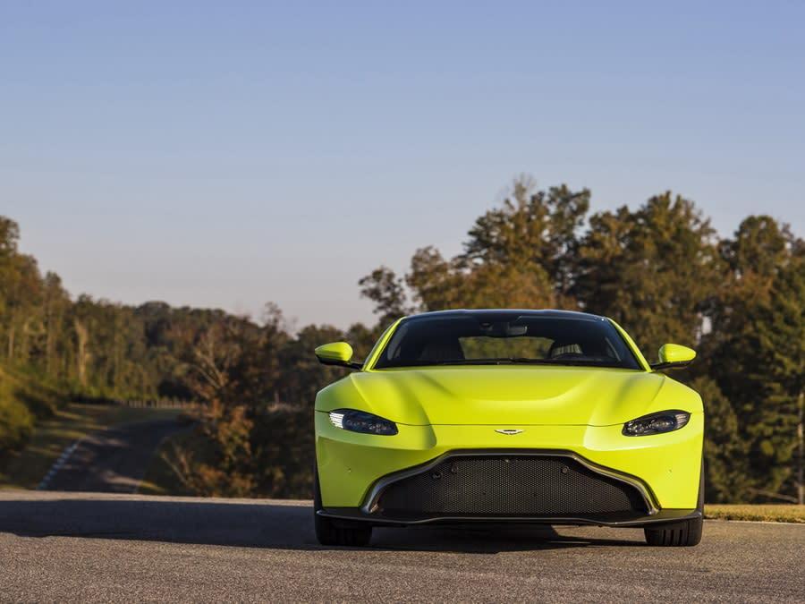 007新配車?全新Aston Martin Vantage